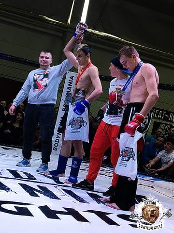 турнир единоборств в Красноярске 2