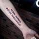 сделать тату на руке надпись латиница в Красноярске