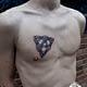 сделать тату на груди абстракция в Красноярске